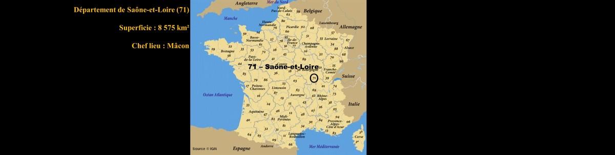 La Saône-et-Loire - 71