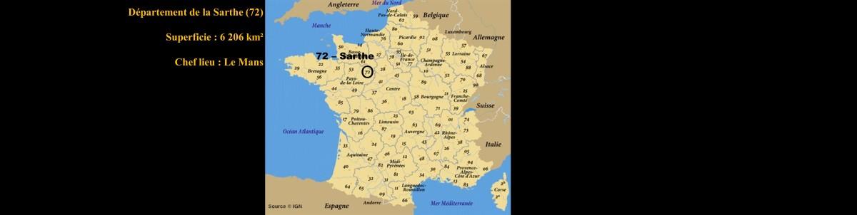 La Sarthe - 72