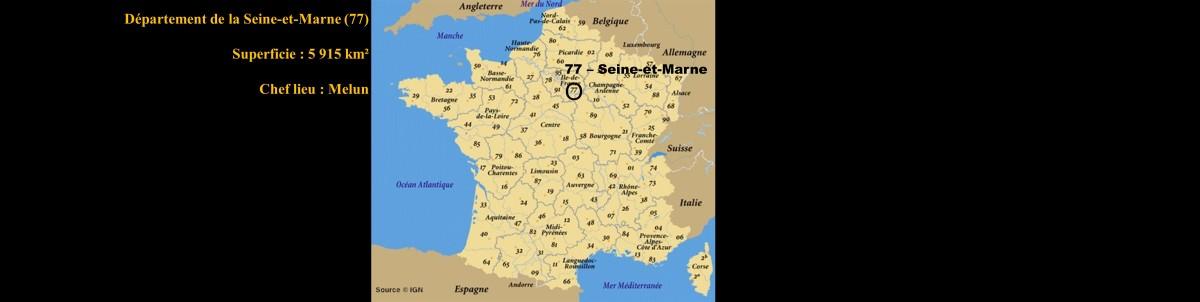 La Seine-et-Marne - 77